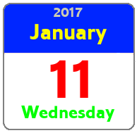 Wednesday January 11th