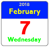 Wednesday February 7th