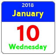 Wednesday January 10th