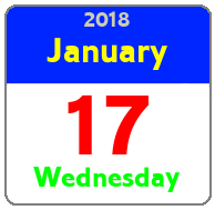 Wednesday January 17th