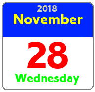 Wednesday November 28th