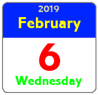 Wednesday February 6th
