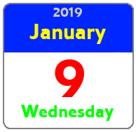Wednesday January 9th