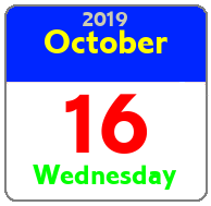 Wednesday October 16th