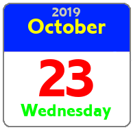 Wednesday October 23rd