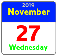 Wednesday November 27th